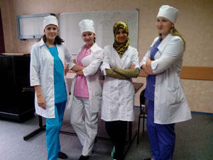 Студентки-медики