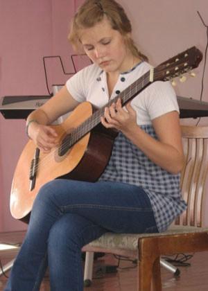 Семенова Катя - воспитанница чебоксарской школы № 20