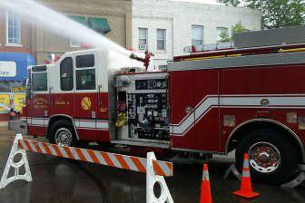 Пожарные машины выглядят потрясающе.