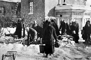 Фото- и кинохроника о блокадном Ленинграде