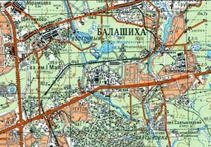 Карта ж/д