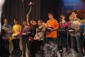Виктория Игошина на Всеросссийской олимпиаде школьников