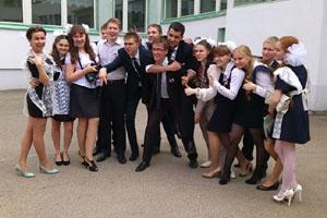 В нашей гимназии очень весело!