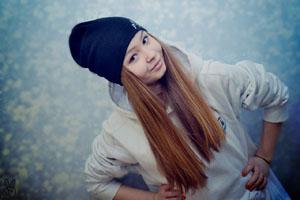 Я очень люблю фотографировать. Вот это – моя лучшая подруга Алена.