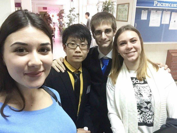 Встречаем гостей из Японии и Франции. Всероссийская неделя русского языка.